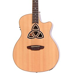Luna Guitars Trinity 12-String Grand Auditorium Acoustic-Electric Guitar (TRI 12)