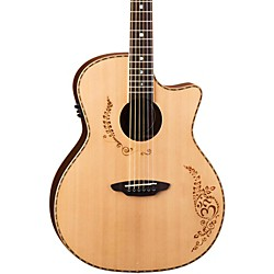 Luna Guitars Vicki Genfan Signature Acoustic-Electric Guitar (VG SIG)
