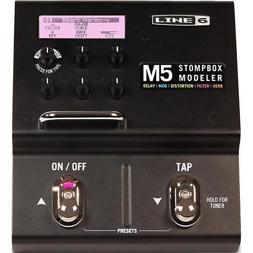 Line 6 M5 Stompbox Modeler Guitar Multi-Effects Pedal-thumbnail