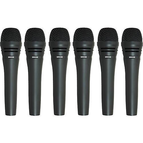 Audio-Technica M8000 Dynamic Mic 6 Pack