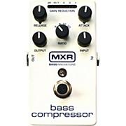 MXR M87 Bass Compressor Bass Effects Pedal