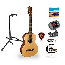 Fender MA-1 3/4 Size Steel String Guitar Bundle