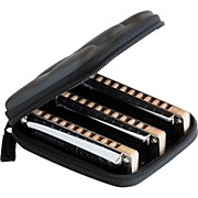 Suzuki MANJI 3-Piece Harmonica Set Keys: (C, G, A)
