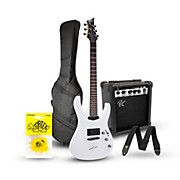 Mitchell MD200 Black Electric Guitar Standard Package