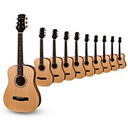 Mitchell MDJ10 Junior Dreadnought Acoustic Guitar 10-Pack