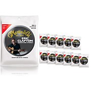 Martin MEC12 Clapton's Choice Phosphor Bronze Light 12-Pack Acoustic Guitar Strings