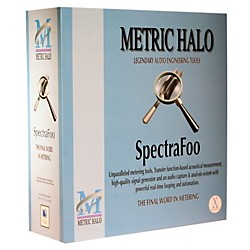 METRIC HALO SpectraFoo Standard OSX Standalone Software Download (1041-14)