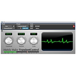 METRIC HALO TransientControl for Pro Tools AAX Software Download (1041-8)