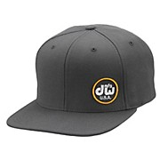 DW MFG Hat, Snapback,Gray w/ Yellow Logo