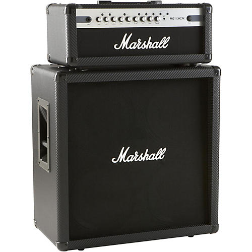 Marshall MG100HCFX 100W Head with MG412CF 4x12 Cab-thumbnail
