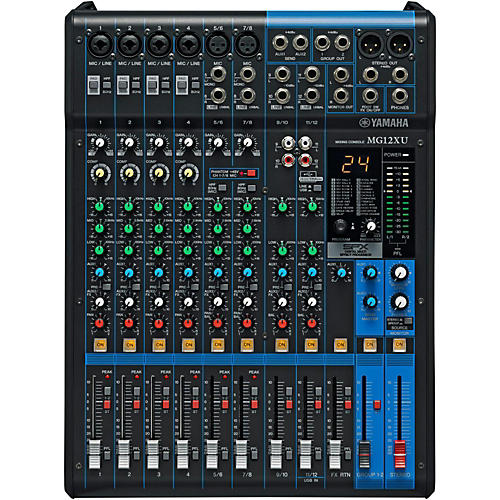 Yamaha MG12XU 12-Channel Mixer with Effects-thumbnail