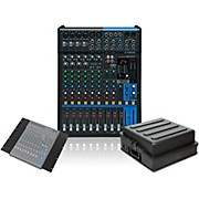 Yamaha MG12XU Mixer with Rack Mount Kit and Case