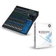 Yamaha MG16XU 16-Channel Mixer With Cubase Artist