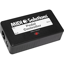 MIDI Solutions Continuous MIDI Data Pedal Controller (PEDAL CONTROLLER)