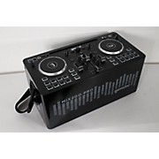 Gemini MIX2GO PRO Portable DJ Mixer with Built-in Speakers and LED Light Show