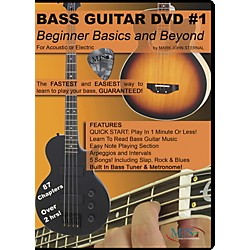 MJS Music Publications Bass Guitar DVD #1 - Beginner Basics and Beyond (BDVD1)