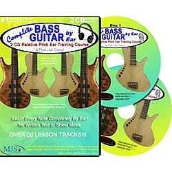 MJS Music Publications Complete Bass Guitar by Ear (2-CD Set) (CBGE)