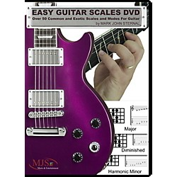MJS Music Publications EASY GUITAR SCALES DVD (EZGScales)