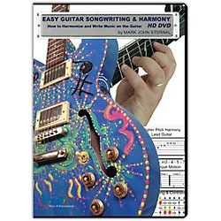 MJS Music Publications EASY GUITAR SONGWRITING DVD: Writing Music and Harmony on the Guitar (EZGSNG)