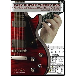 MJS Music Publications Easy Guitar Theory (DVD) (EZGTH)