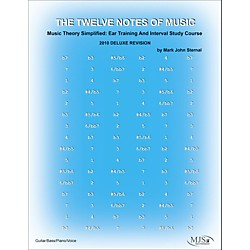 MJS Music Publications The 12 Notes of Music 2010 Deluxe Revision (12N)
