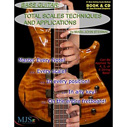 MJS Music Publications Total Scales Techniques and Applications - Bass (Book/CD) (BTSTA)