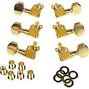 Gotoh MLB3-G 3-On-A-Side Locking Tuners 6-Pack