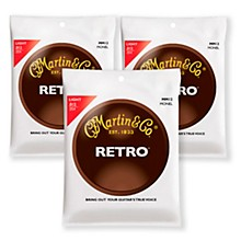 Martin MM12 Retro Series Light Acoustic Guitar Strings (3 Pack)