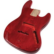 Mighty Mite MM2703ST Jazz Bass Replacement Body - See Through Finish