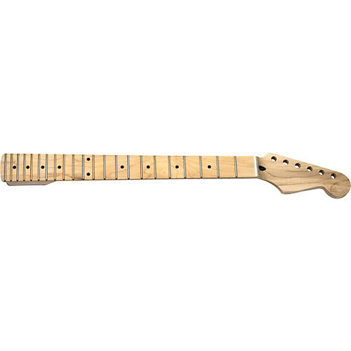 Mighty Mite MM2928 Stratocaster Replacement Neck with Maple Fingerboard and Jumbo Frets-thumbnail
