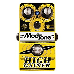 MODTONE High Gainer Super Distortion Guitar Effects Pedal (MT-HG)