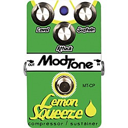 MODTONE Lemon Squeeze Compressor Guitar Effects Pedal (MT-CP)