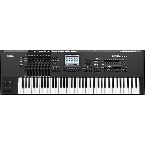 Yamaha MOTIF XF7 76-Key Music Production Synthesizer-thumbnail