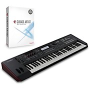 Yamaha MOXF6 61-Key Semi-Weighted Synth With Cubase Artist