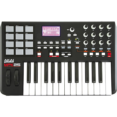 Akai Professional MPK25 Keyboard USB MIDI Controller-thumbnail
