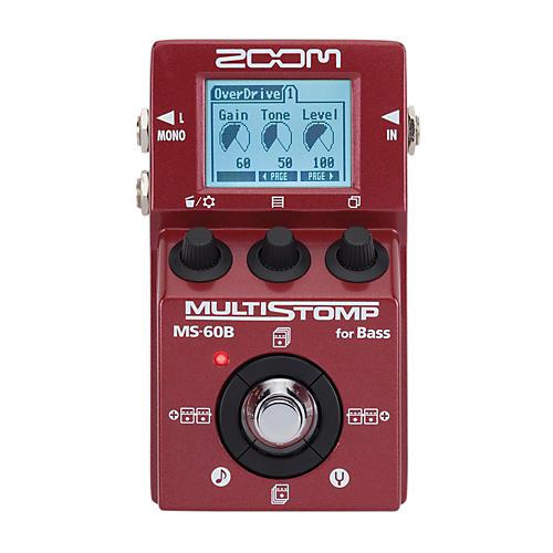 Zoom MS-60B Multi-Stomp Bass Pedal-thumbnail