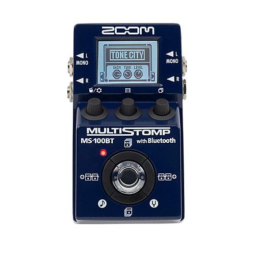 Zoom MS100BT Multistomp Pedal w/ Bluetooth Multi FX Pedal-thumbnail