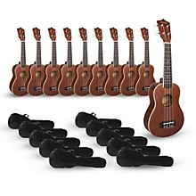 Mitchell MU40 Soprano Ukulele Classroom 10-Pack