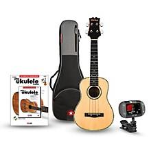 Mitchell MU70 12-Fret Concert Ukulele Bundle