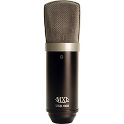 MXL USB.008 Large Gold Diaphragm USB Condenser Microphone (MXL-USB.008)