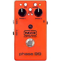 MXR Custom Shop Phase 99 Guitar Effects Pedal (CSP099)