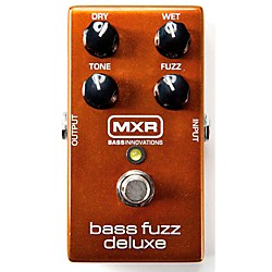 MXR Deluxe Bass Fuzz Effects Pedal (M84)