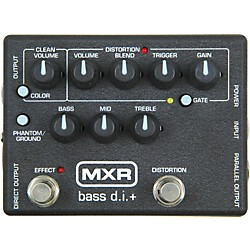 MXR M-80 Bass Direct Box with Distortion (M80)