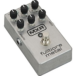 MXR M116 Fullbore Metal Distortion Guitar Effects Pedal (M116)