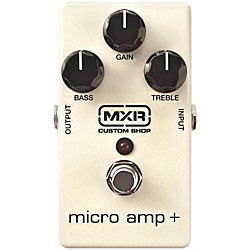 MXR Micro Amp+ Guitar Effects Pedal (CSP233)