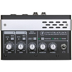 Mackie Onyx Blackjack Premium 2x2 USB Recording Interface (2034521-00)