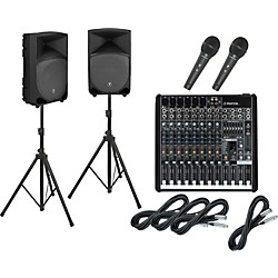 Mackie ProFX12 / TH-15A PA Package (ProFX12TH15A)