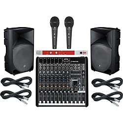 Mackie ProFX12 / TH-15A PA Package with BBE 382i (ProFX12TH15A382i)