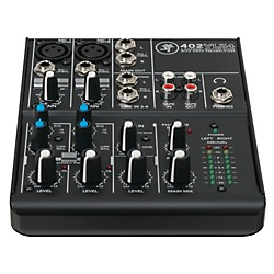 Mackie VLZ4 Series 402VLZ4 4-Channel Ultra Compact Mixer (2040768-00)