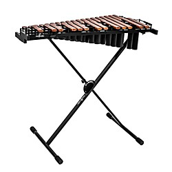 Majestic Gateway Series 2.5 Octave Padauk Bar Practice Xylophone w/ Resonators (X4525DR)